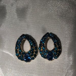 Royal Blue stud Earrings